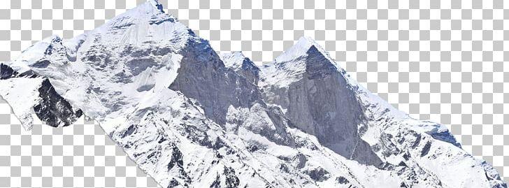 Gangotri Glacier Massif PicsArt Photo Studio Nunatak PNG.