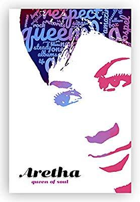Amazon.com: Digital Fusion Prints Aretha Franklin Poster.