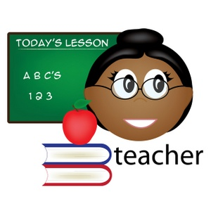 Teacher Clipart Image.