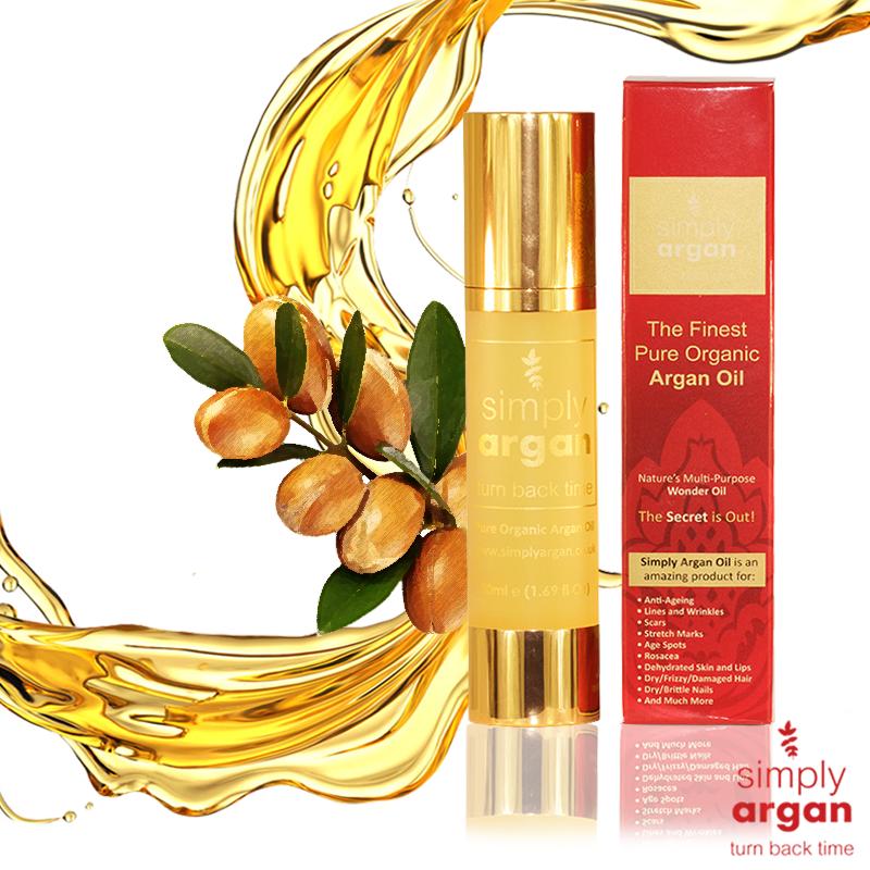 simply argan oil (50ml).