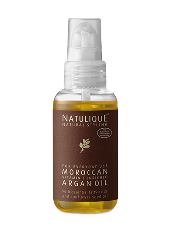 Natulique Moroccan Vitamin E Argan Oil.