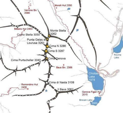 Serra dell'Argentera : Climbing, Hiking & Mountaineering : SummitPost.