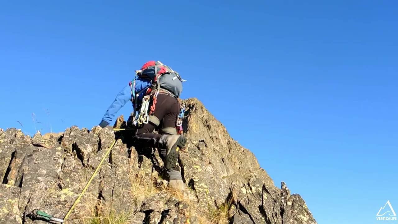 Mountaineering in the Alps : Monte Stella.