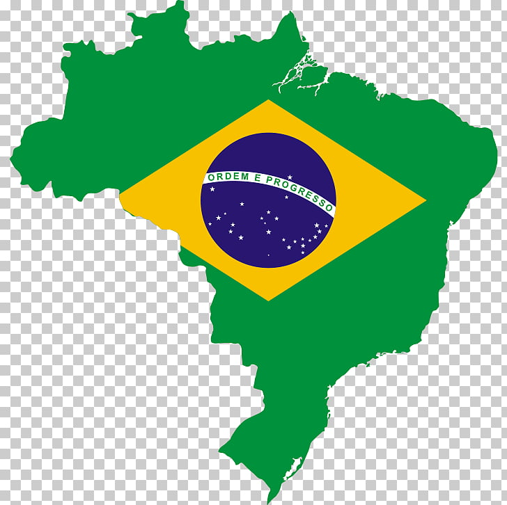 Flag of Brazil Map National flag, brazil PNG clipart.