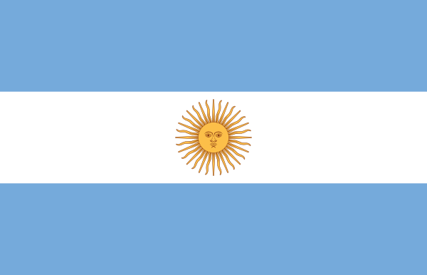 Flag Of Argentina clip art Free Vector / 4Vector.