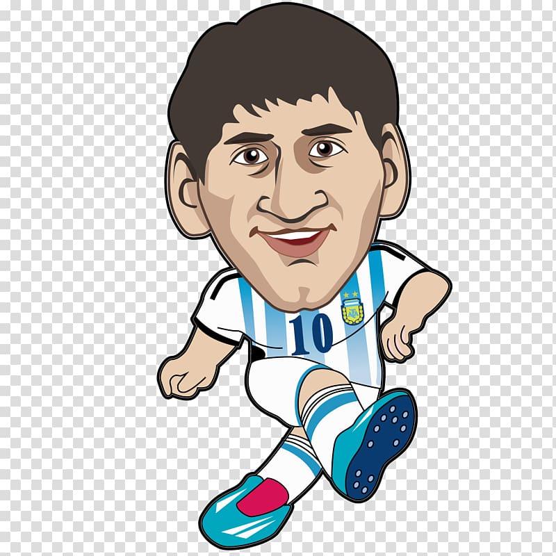 Lionel Messi illustration, Lionel Messi FC Barcelona.