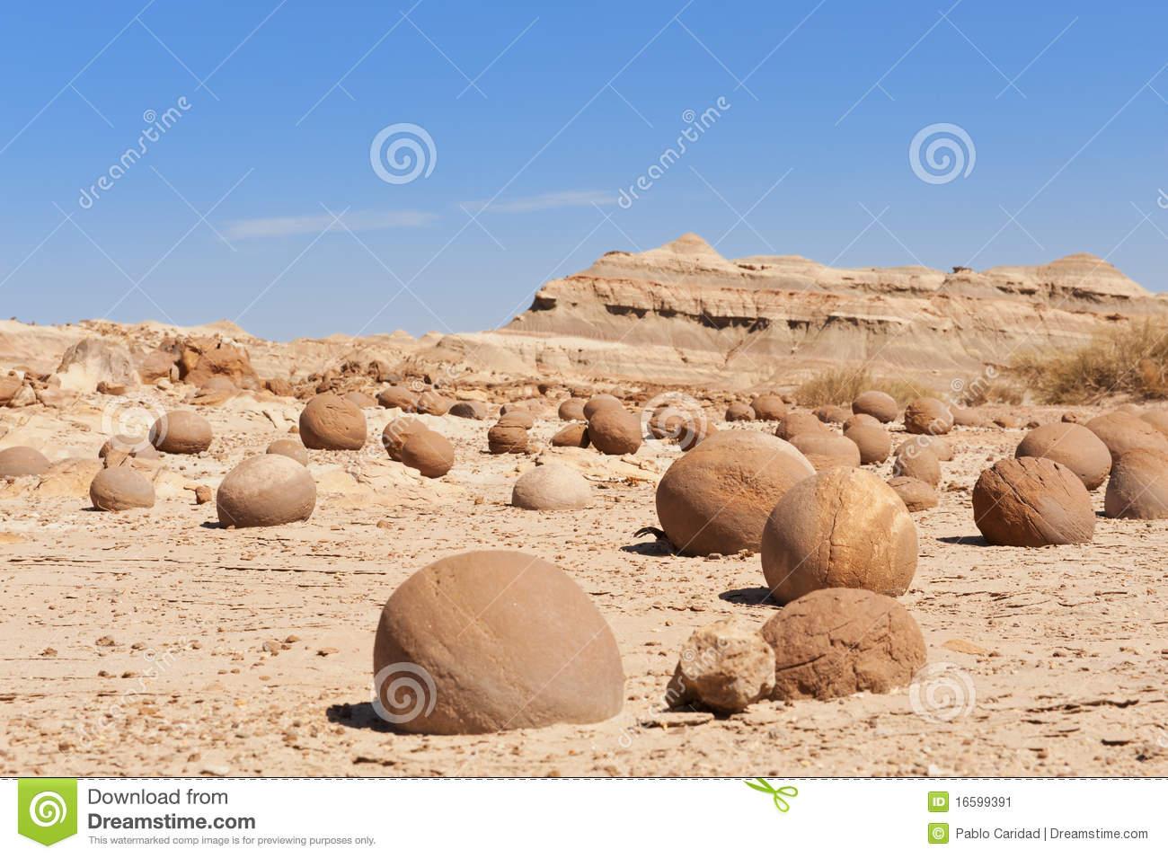 Stone Desert In Ischigualasto, Argentina. Stock Image.