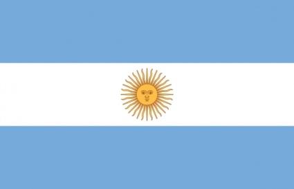 Argentina Flag Clip Art.