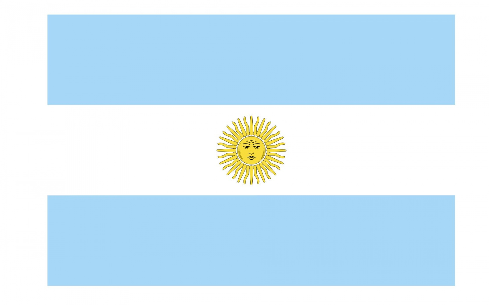 Argentina Flag.