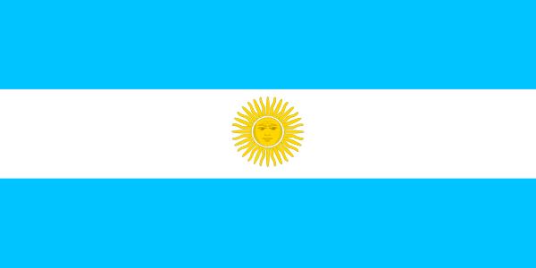Clipart argentina flag.