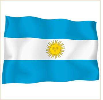 Argentina flag clipart.