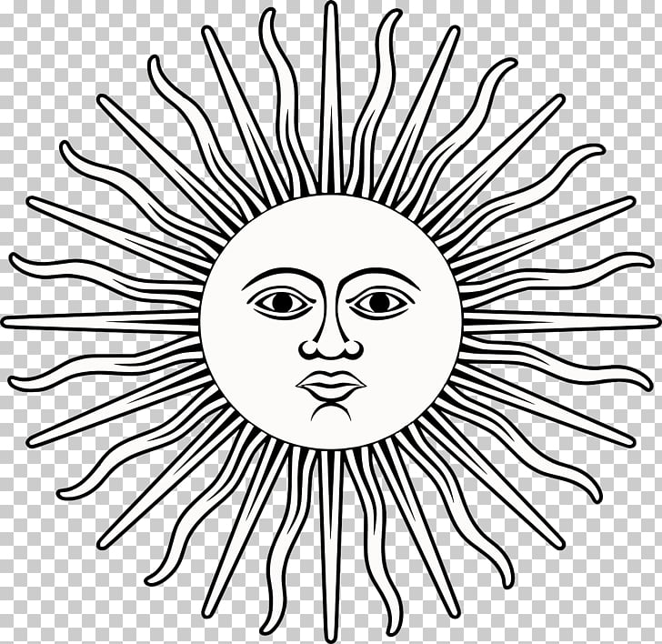 Flag of Argentina Sun of May Tattoo Inca Empire, sun PNG.