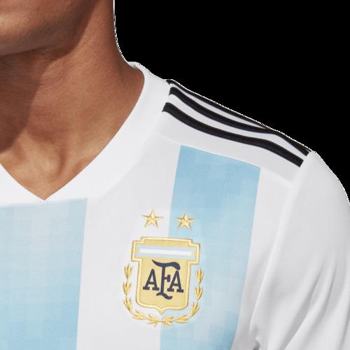 adidas 2018 Argentina Home Replica Jersey.