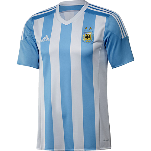 Type Shirts adidas Argentina Home Replica Player Jersey.