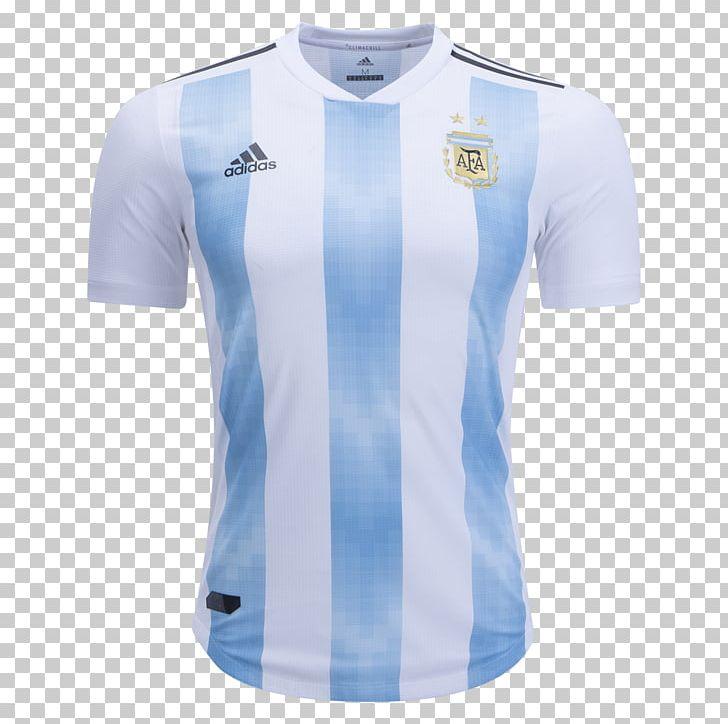 2018 World Cup Argentina National Football Team Copa América Jersey.