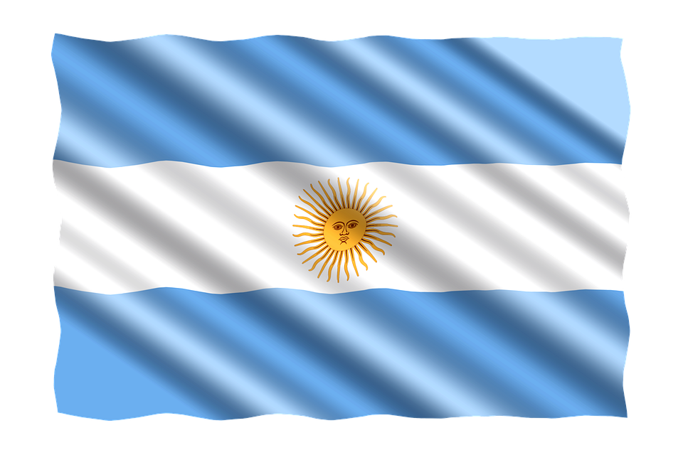 Flag Argentina Country.