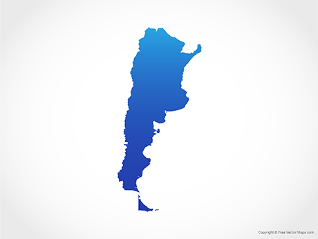 Vector Maps of Argentina.