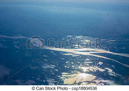 Stock Photos of Parana river delta in Argentina..
