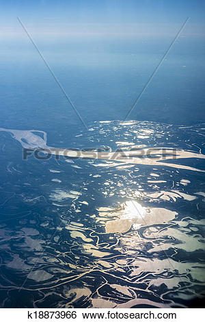 Stock Images of Parana river delta in Argentina. k18873966.