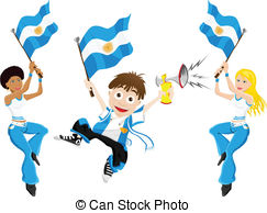 Argentina football team Vector Clipart Illustrations. 306.