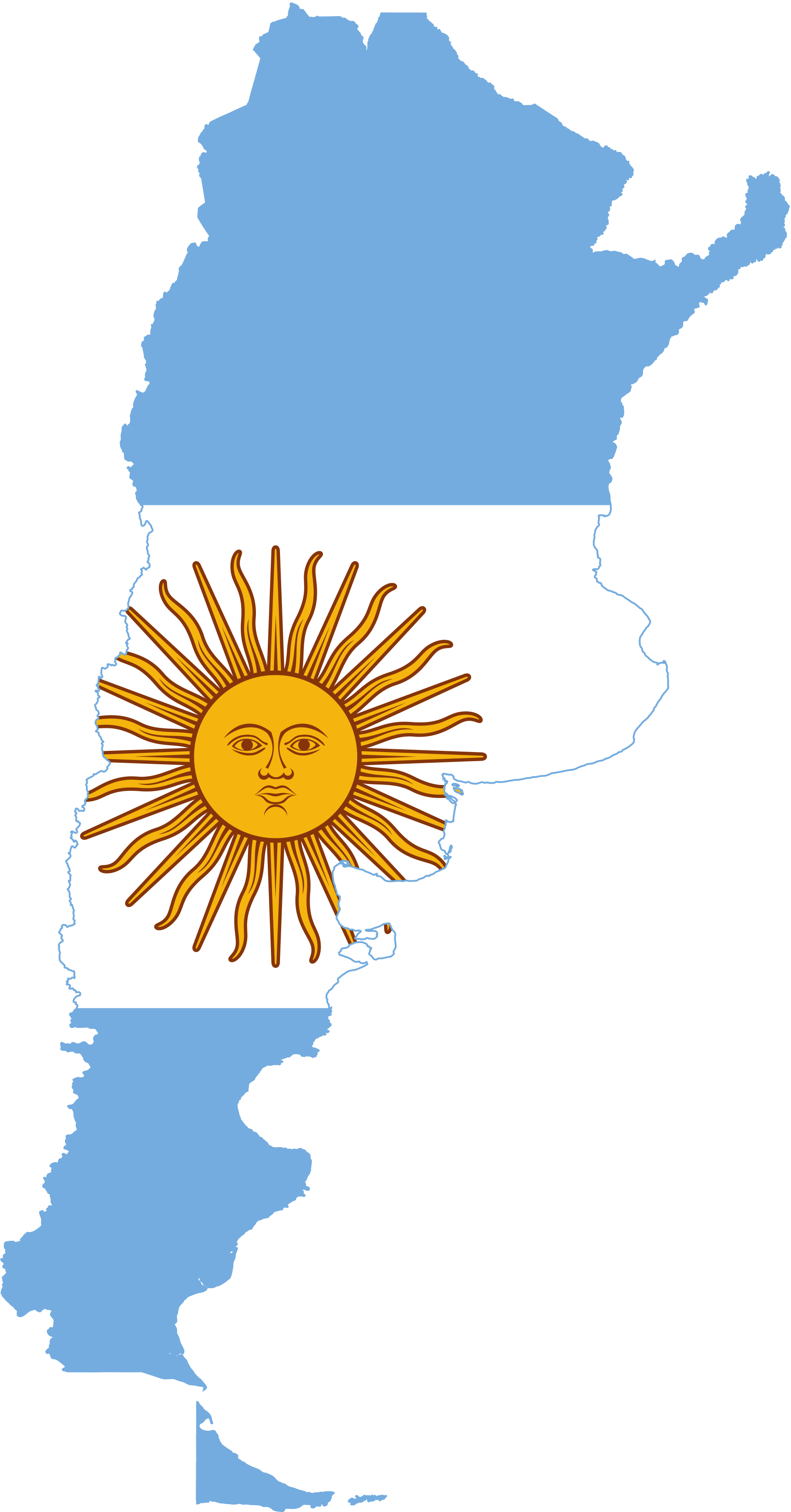 Logo Bandera Argentina.