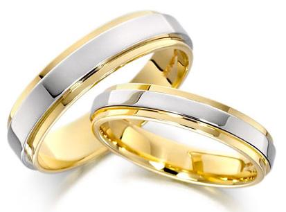 Guía de las argollas de matrimonio.