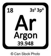 Periodic table argon Clipart Vector and Illustration. 21 Periodic.