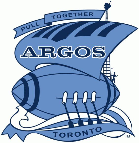 Toronto Argonauts Primary Logo (1956).