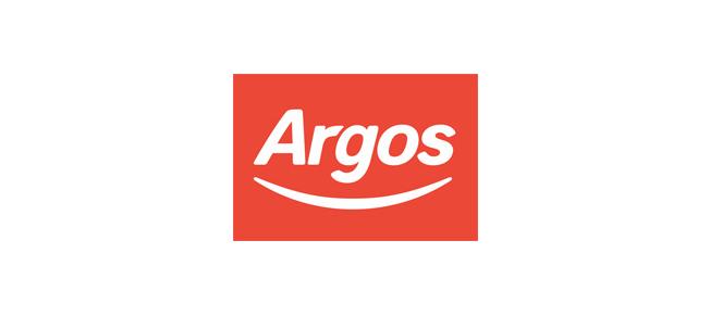 Argos adds a smile.