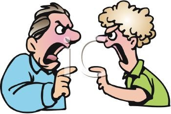 Argument People Clipart.