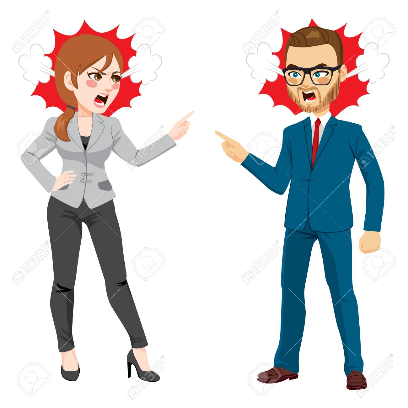 Workplace Conflict Cliparts Free Download Clip Art.