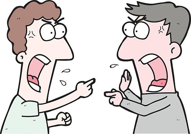 Best Clip Art Of Arguing Illustrations, Royalty.
