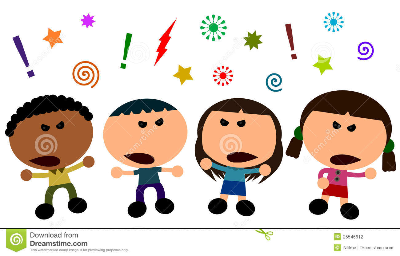 People Having Argument Clipart.