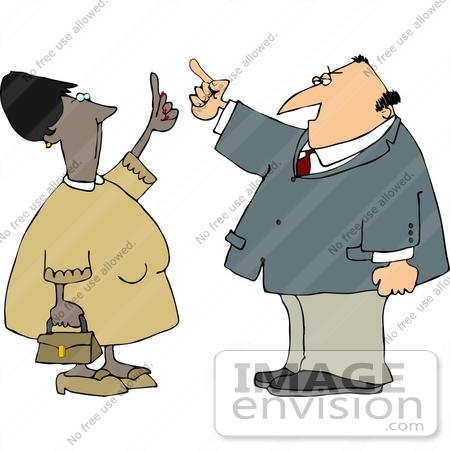 People Having Argument Clipart.