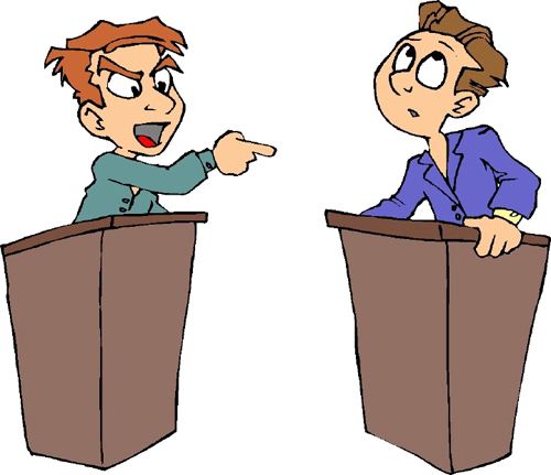 Arguing politician clipart clipart images gallery for free.