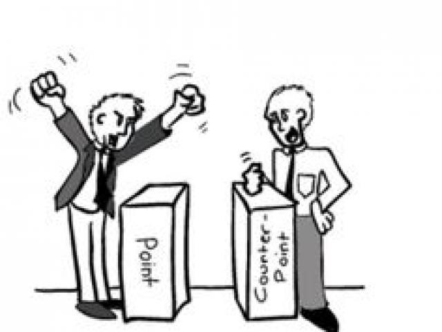 Politician clipart counter argument, Politician counter.