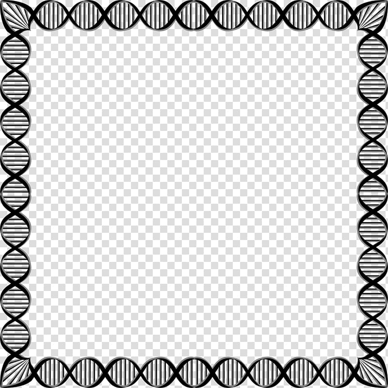 DNA , Biology Borders transparent background PNG clipart.