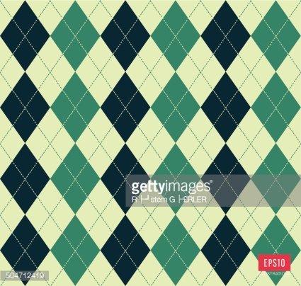 Argyle pattern Clipart Image.