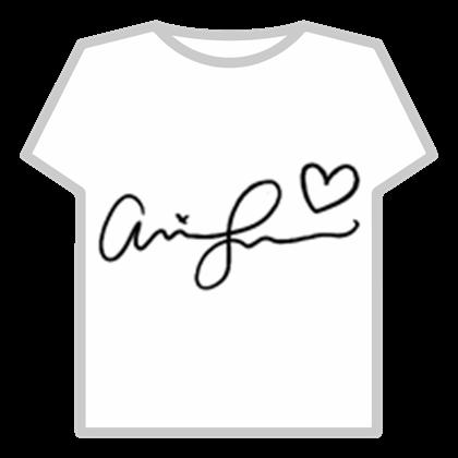 Ariana Grande's Autograph.