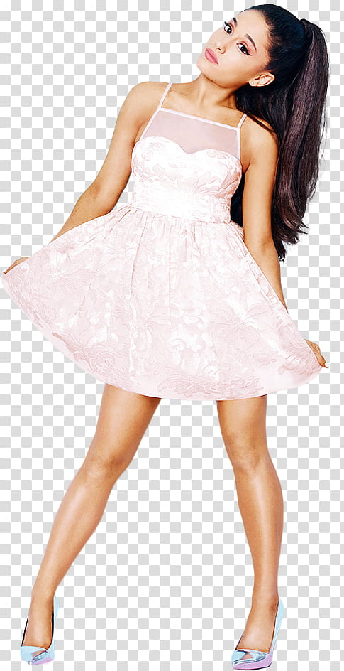 Ariana Grande Lipsy London transparent background PNG.