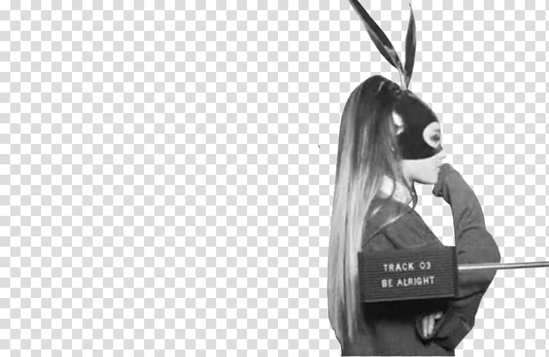 Ariana Grande Dangerous Woman, Ariana Grande in black mask.