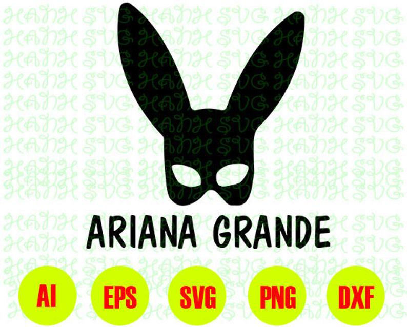 Ariana Grande svg, Ariana Grande mask svg,png,dxf,eps,digital download.