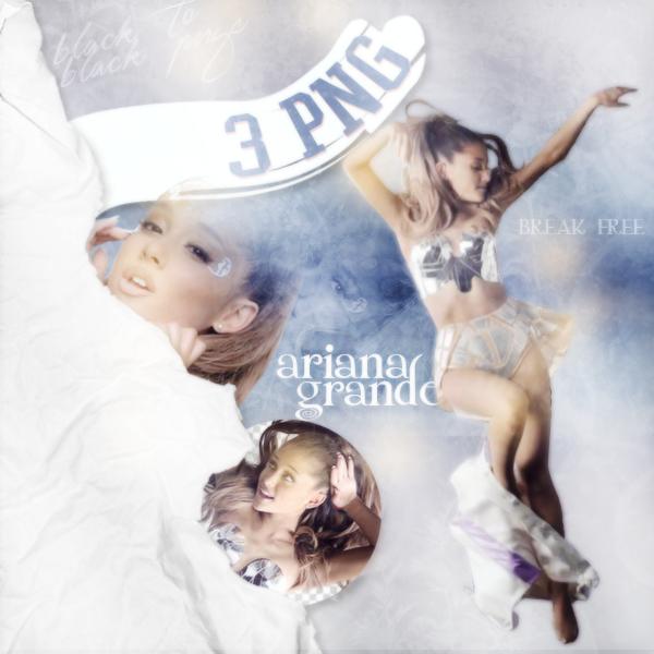 PNG Pack(350) Ariana Grande(Break Free) #159566.