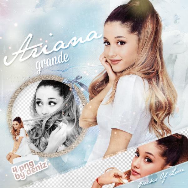 PNG PACK (123) Ariana Grande by DenizBas on DeviantArt.