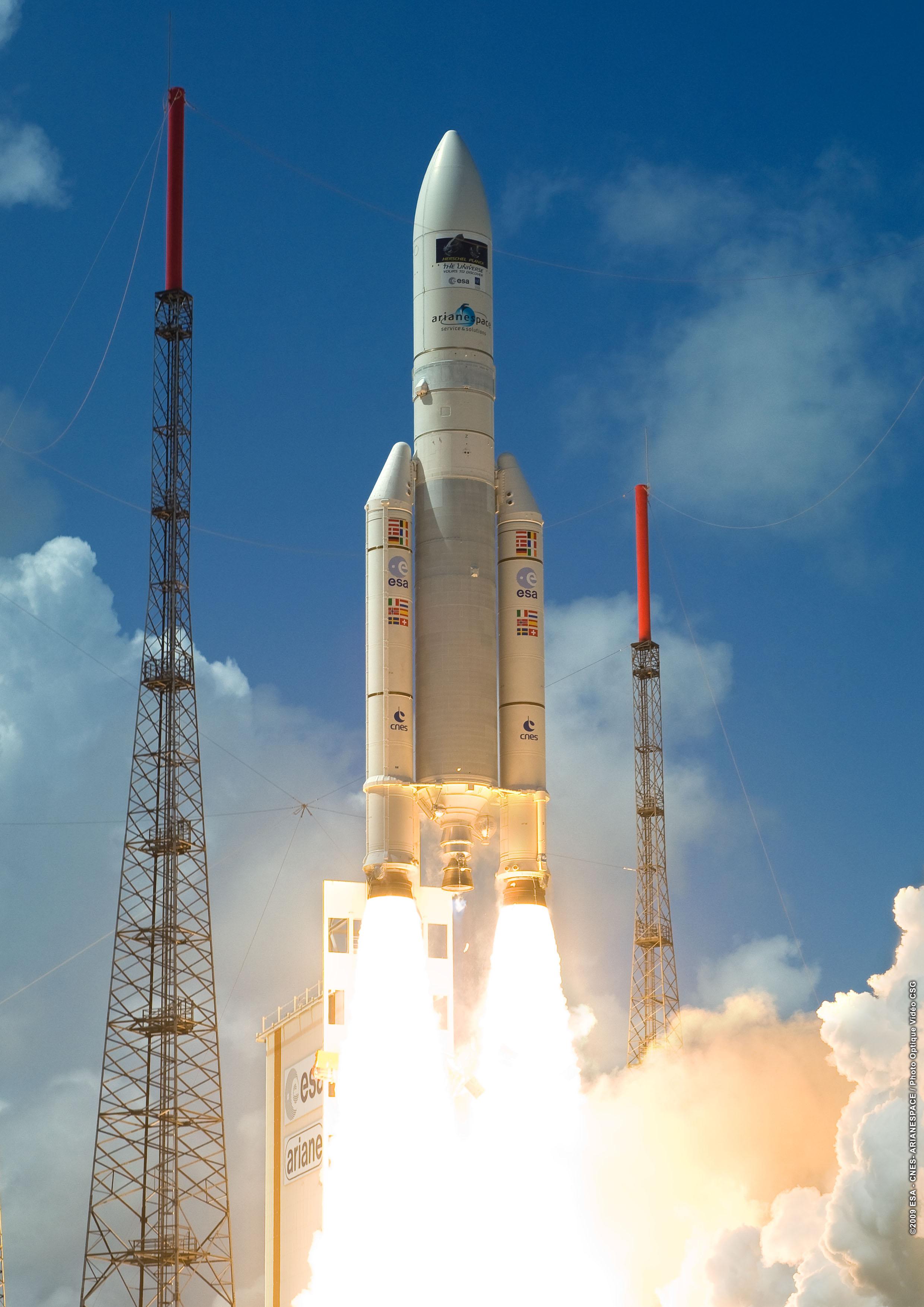 Failure of Ariane 5 on emaze.