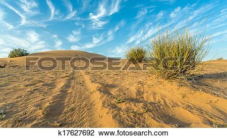 Clip Art of Arid Land k17627692.