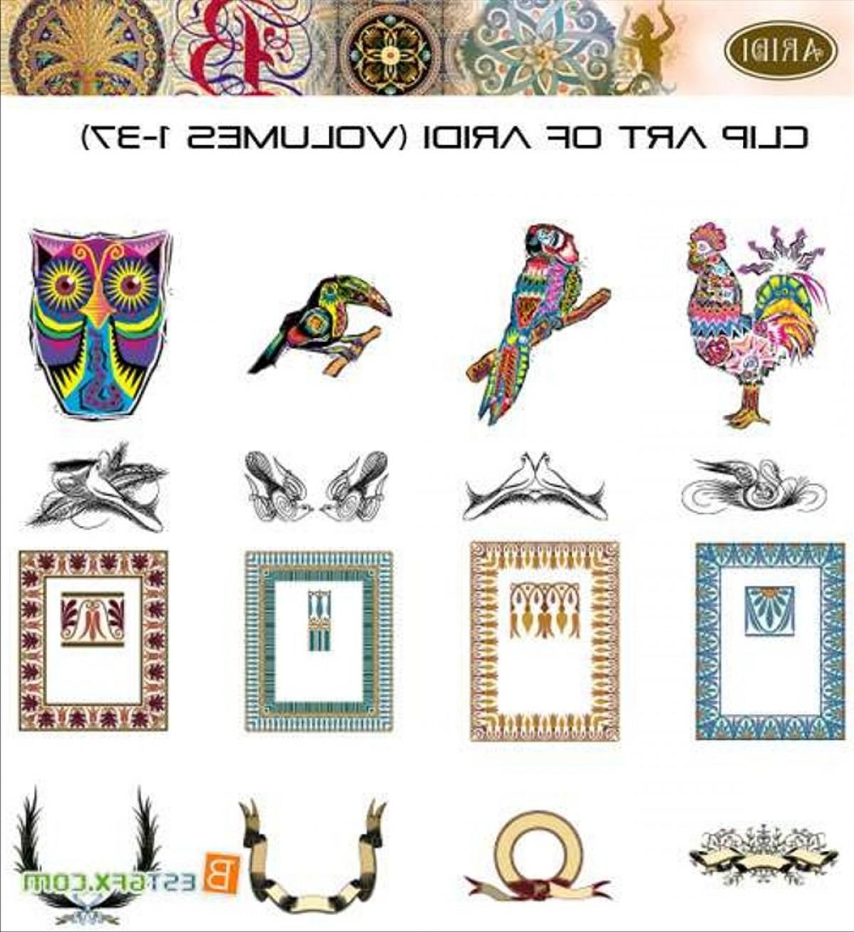 Aridi Vector Clip Art Collection.