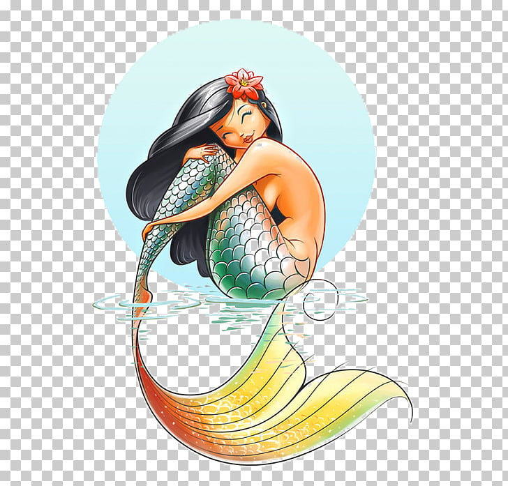 Drawing Mermaid Coloring book Ariel graphics, Mermaid PNG.
