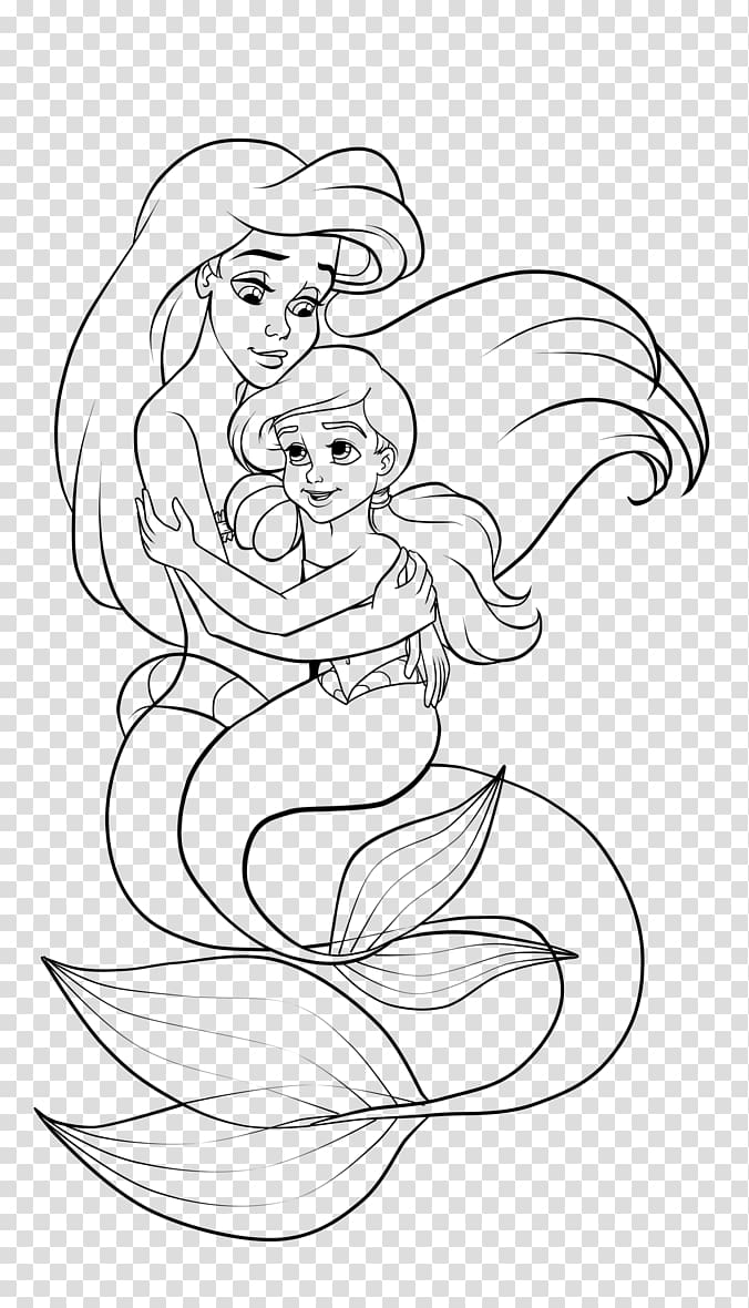 Ariel Melody Coloring book Drawing Belle, Mermaid.