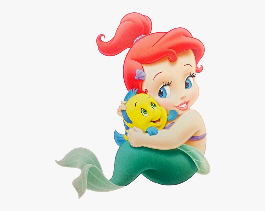 Princess Ariel Clipart Cute.